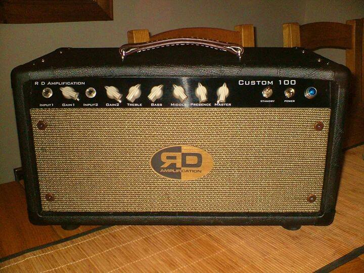 RD Amplification Custom 100 vintage tube amplifier