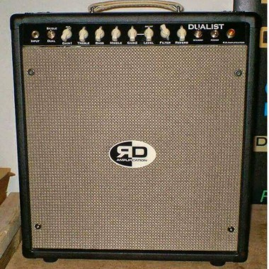 custom R D Amplification DUALIST vintage tube amplifier and cabinet combo