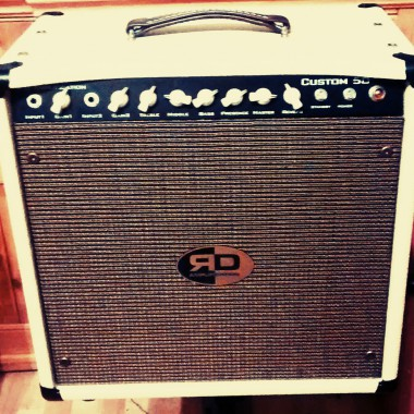 RD Amplification Custom 50 combo tube amplifier