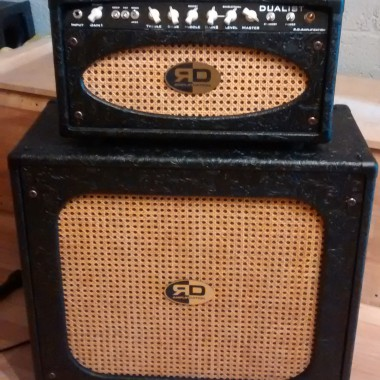 Custom DUALIST Type R - Vintage guitar tube amplifier and cabinet