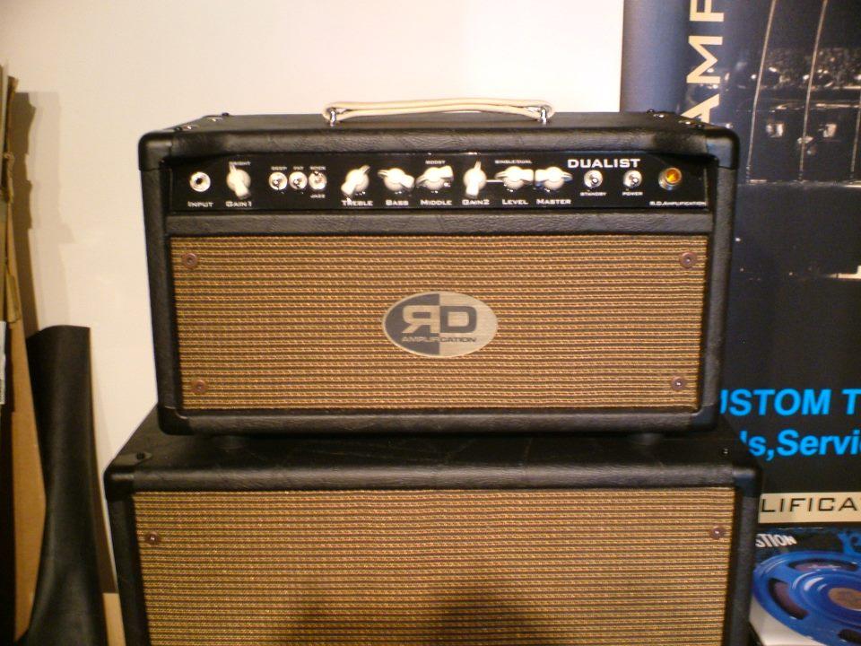 Classic custom DUALIST Type R amplifier
