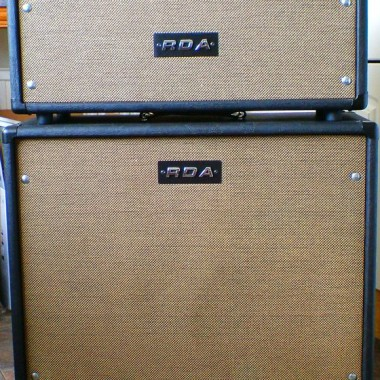 Custom overdrive special amplifier and cabinet