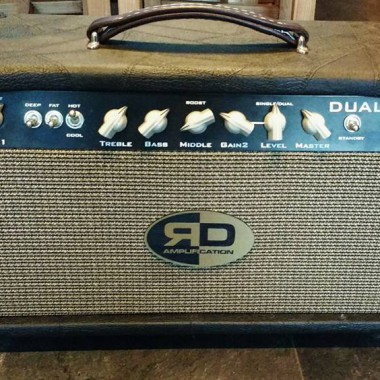 Custom guitar amplifier hand made by R D Amplification